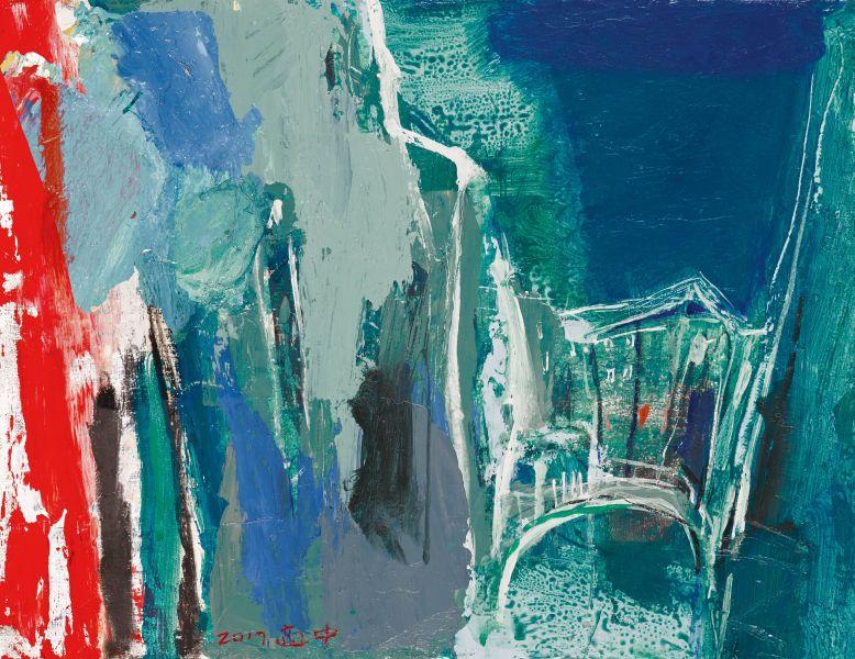 柯適中-藍色威尼斯