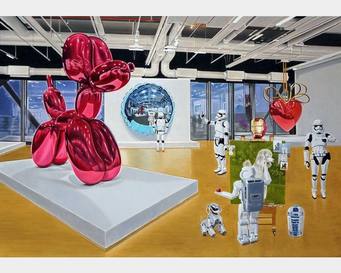 曹文瑞-逆向工程   虛擬世界之美術館日常