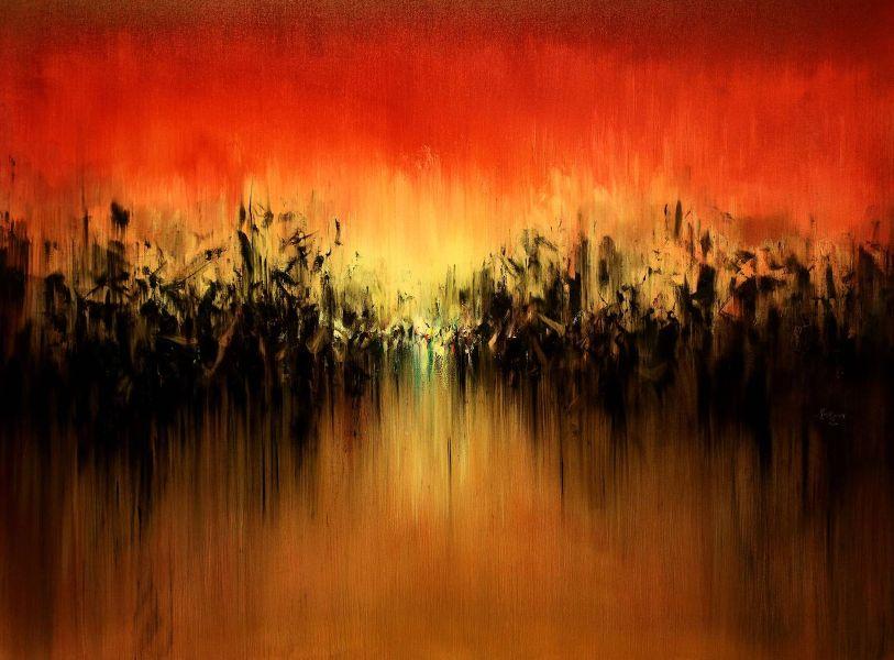 呂榮琛-紅色的天空