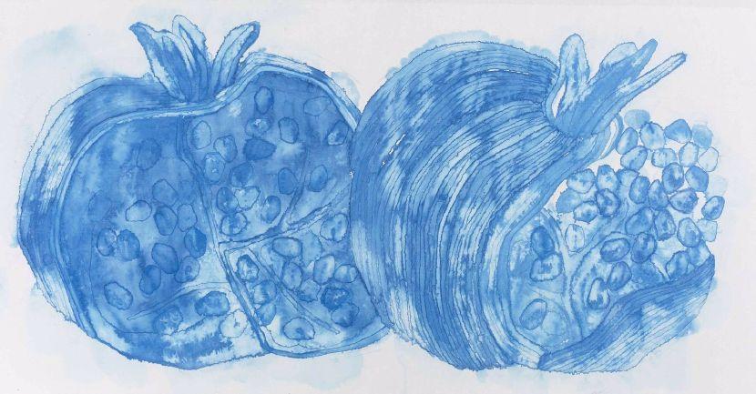 李婷婷-《榴實圖》 Pomegranates