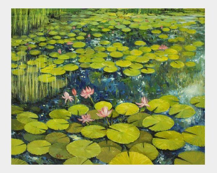 沈玉芬-蓮花園 Lotus