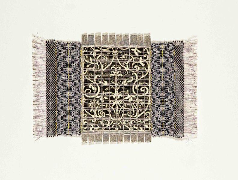 Renee Magnant -義大利猶太圖騰 Italian Jewish Pattern With Silver