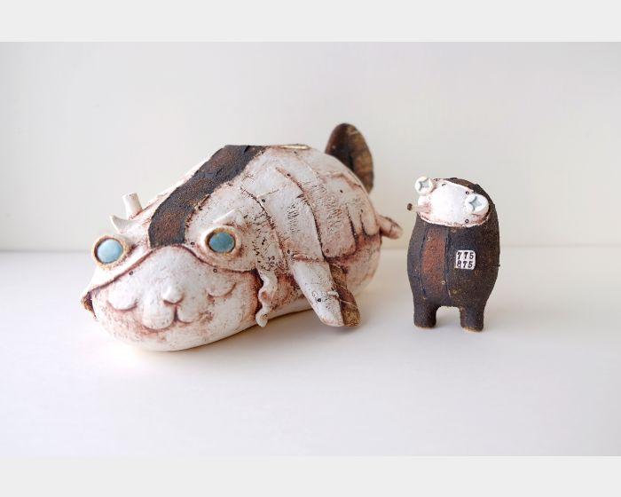 蔡文明(有空)-Winged cat#6 & 貓奴#775875