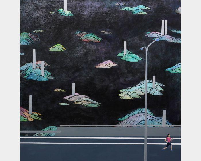 黃法誠-寂寞風景4 Lonely landscape
