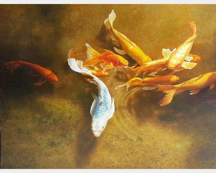 林嶺森- 錦鯉戲水