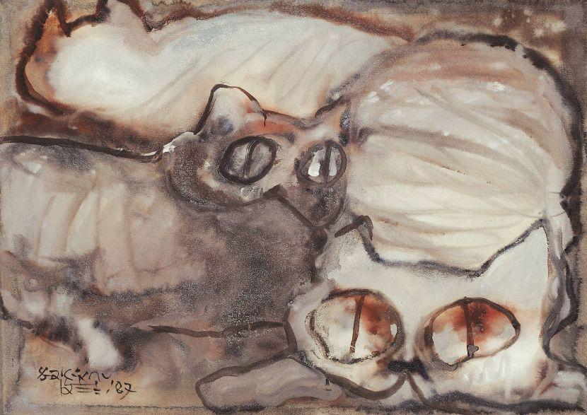 劉其偉-一群貓咪 Cats