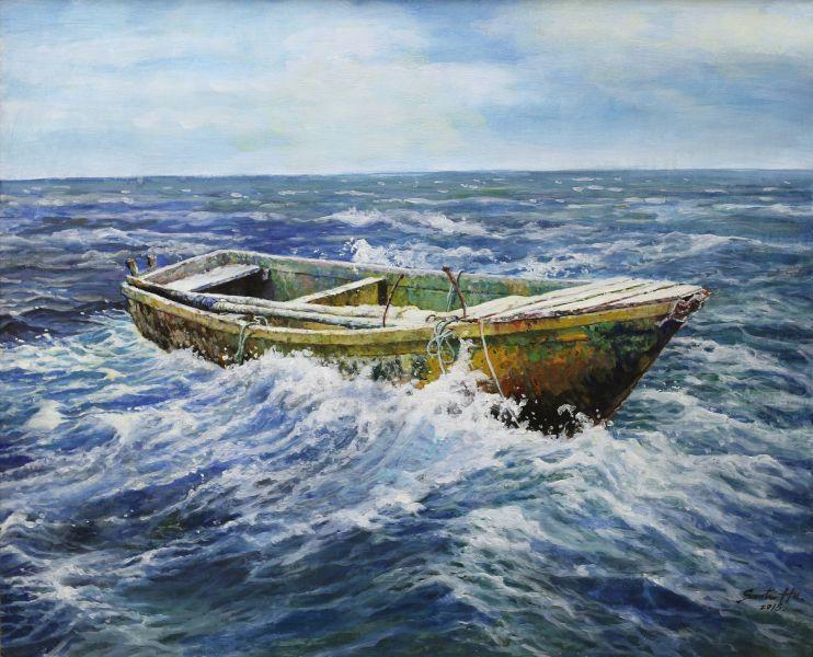胡文賢-海上木舟 Boat