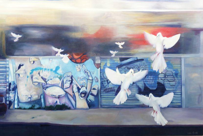 曾仕猷-街頭藝人No.35 Street artists No.35