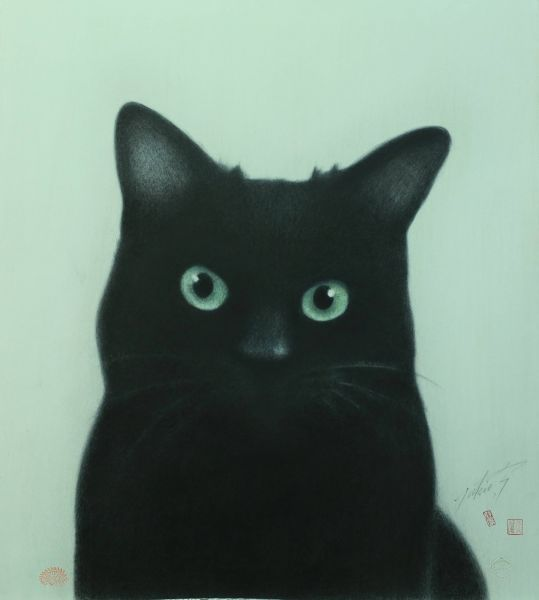 高橋行雄-容顏 2008年 56x61.9cm