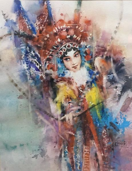 張國徵-穆桂英