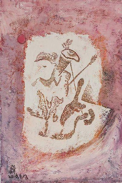 賴美華-岩畫4