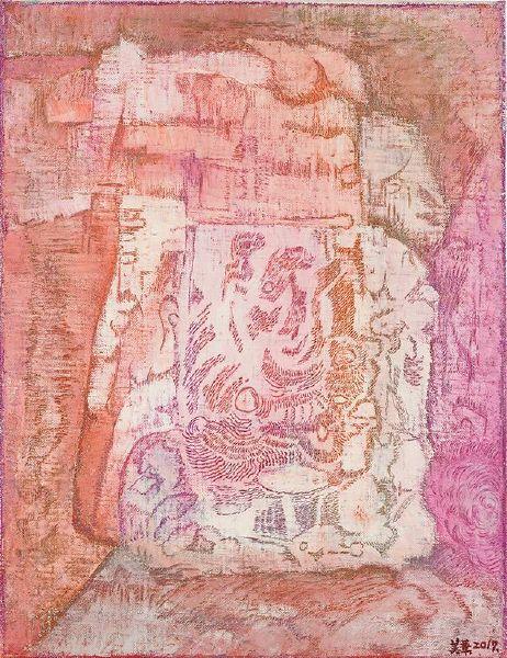 賴美華-岩畫2