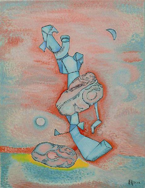 賴美華-風中的雕像