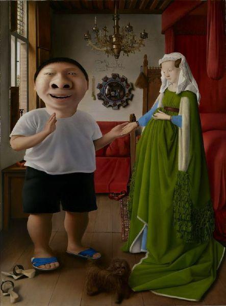 盧昉-大鼻子與他搶來的新娘 Mr. Big Nose and His Captured Wife