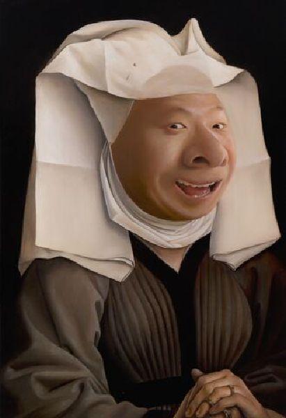 盧昉-有著大鼻子的少婦 Woman with Big Nose