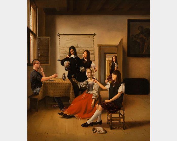 盧昉-美術史記事 II:1658年於台夫特的酒宴 Art History Anecdote I: Feast in Delft 1658