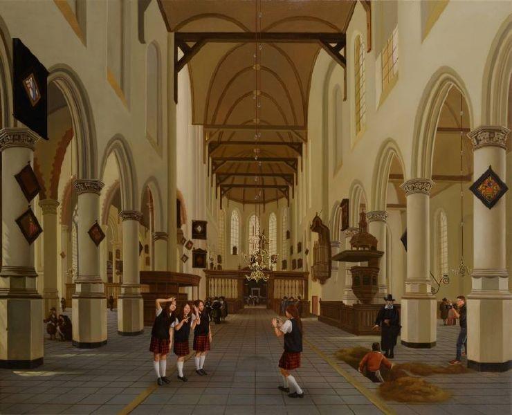 盧昉-美術史記事 I:1660年於台夫特教堂 Art History Note I: Delft Church in 1660