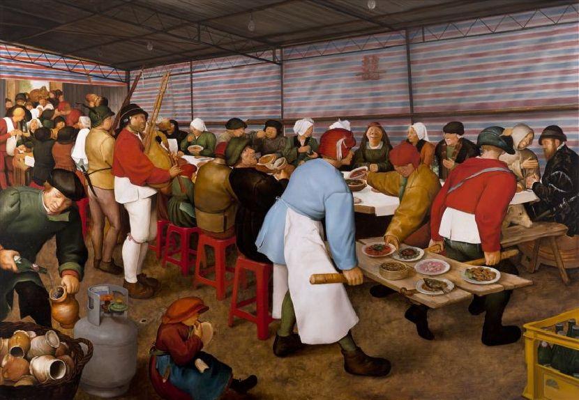 盧昉-辦桌圖 Roadside Banquet