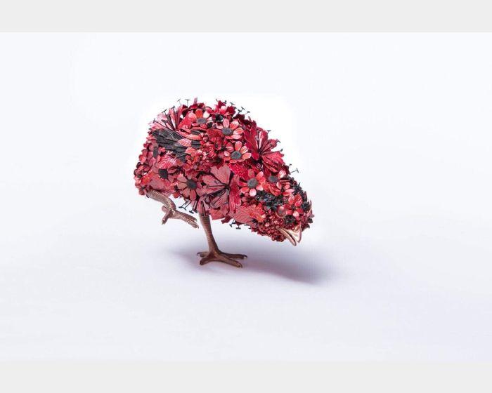 吉田泰一郎-紅雛 No.2 Red Chick No.2