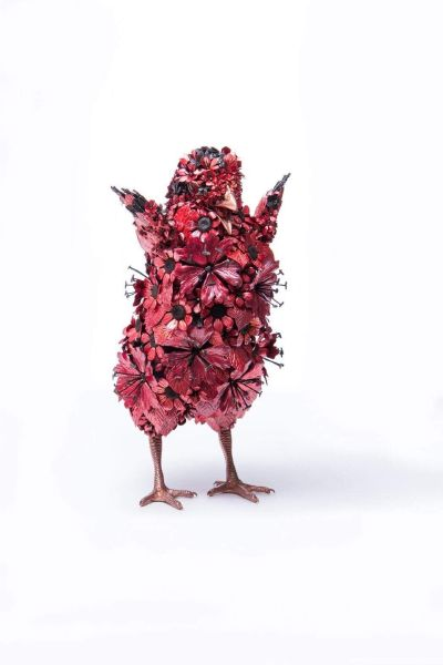 吉田泰一郎-紅雛 No.1 Red Chick No.1