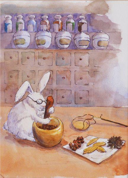 吳怡蒨-玉兔搗藥Jade Rabbit Pounding Elixir