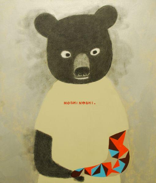 宮城勝規-哈囉熊熊Moshi Moshi Bear