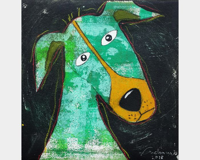 安恰娜‧恰麗亞琶朋-黑色系列:寵愛狗狗 #4Black Series: Love Puppy #4