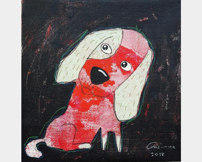 安恰娜‧恰麗亞琶朋-黑色系列:寵愛狗狗 #2Black Series: Love Puppy #2