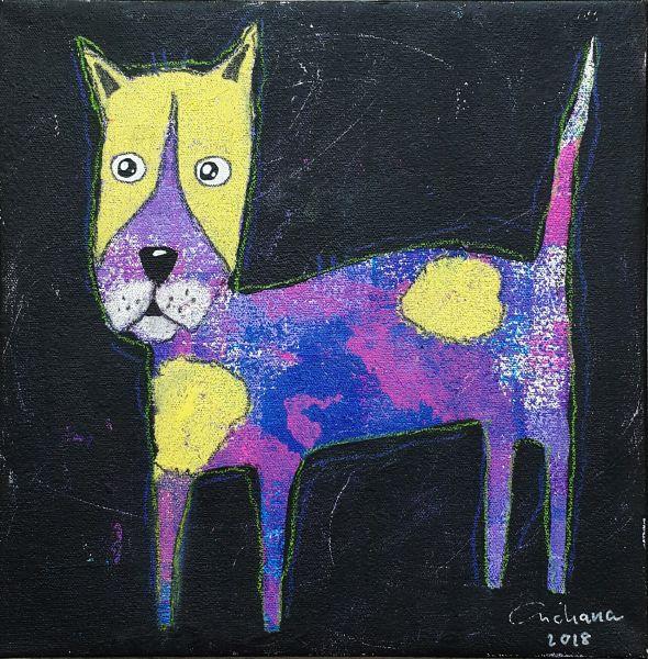 安恰娜‧恰麗亞琶朋-黑色系列:寵愛狗狗 #3Black Series: Love Puppy #3
