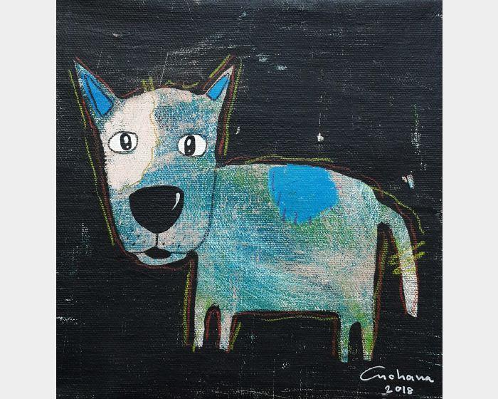 安恰娜‧恰麗亞琶朋-黑色系列:寵愛狗狗 #6Black Series: Love Puppy #6