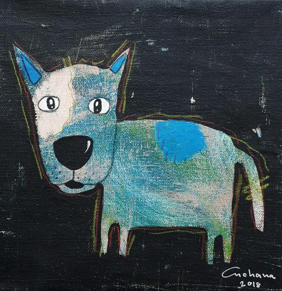 安恰娜 ‧ 恰麗亞琶朋-黑色系列:寵愛狗狗 #6Black Series: Love Puppy #6