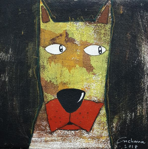 安恰娜‧恰麗亞琶朋-黑色系列:寵愛狗狗 #8Black Series: Love Puppy #8