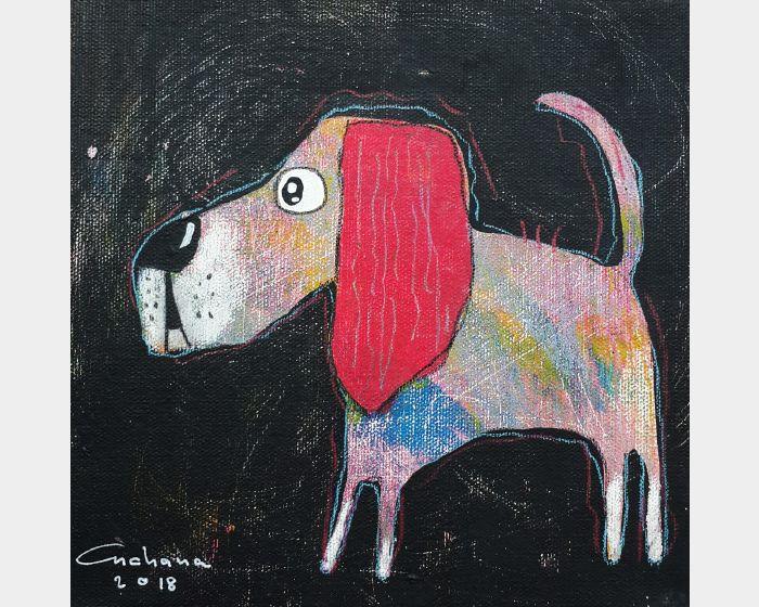 安恰娜‧恰麗亞琶朋-黑色系列:寵愛狗狗 #7Black Series: Love Puppy #7