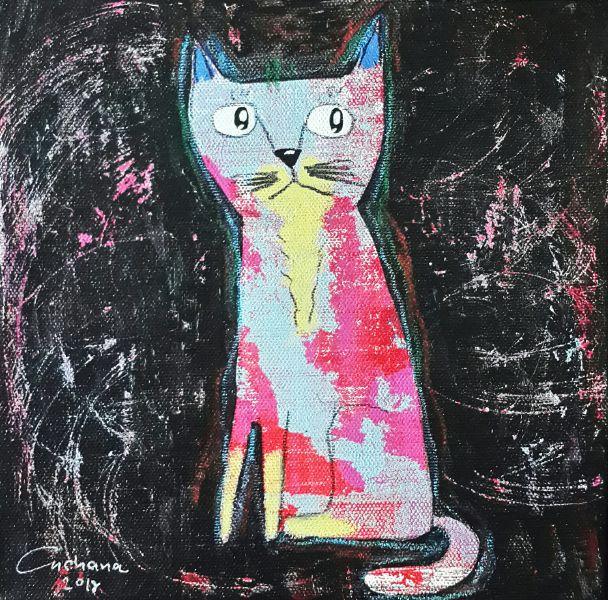 安恰娜‧恰麗亞琶朋-黑色系列:寵愛貓咪 #1Black Series: Love Kitty #1