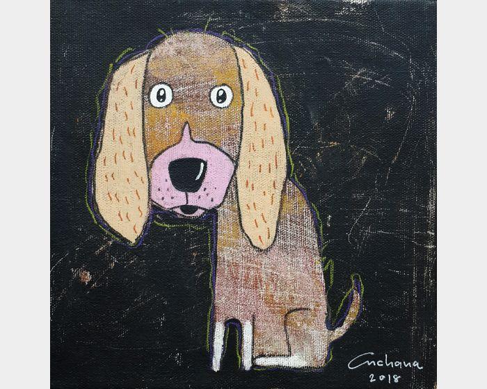 安恰娜‧恰麗亞琶朋-黑色系列:寵愛狗狗 #9Black Series: Love Puppy #9