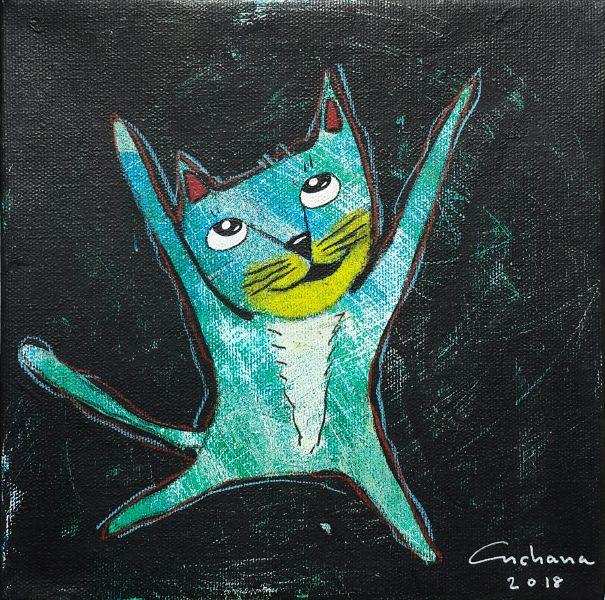 安恰娜‧恰麗亞琶朋-黑色系列:寵愛貓咪 #3Black Series: Love Kitty #3