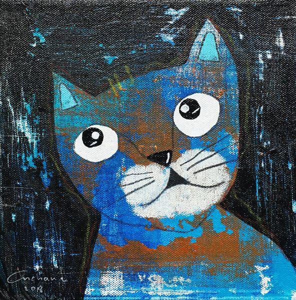 安恰娜‧恰麗亞琶朋-黑色系列:寵愛貓咪 #6Black Series: Love Kitty #6