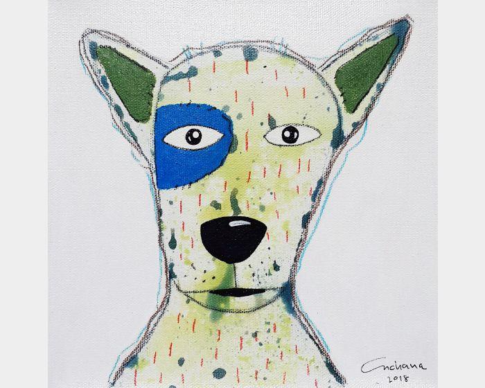 安恰娜‧恰麗亞琶朋-白色系列:寵愛狗狗 #11White Series: Love Puppy #11