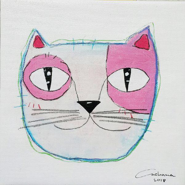 安恰娜‧恰麗亞琶朋-白色系列:寵愛貓咪 #4White Series: Love Kitty #4