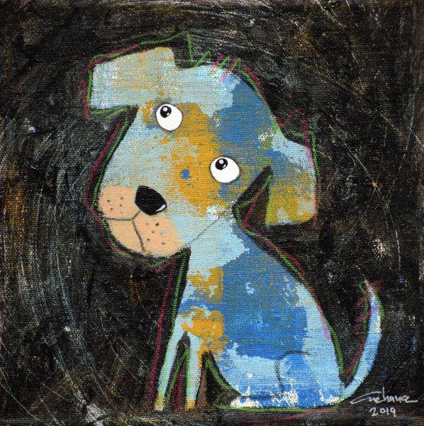 安恰娜‧恰麗亞琶朋-黑色系列:寵愛狗狗 #15