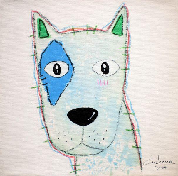 安恰娜‧恰麗亞琶朋-(NEW)白色系列:寵愛狗狗 #19