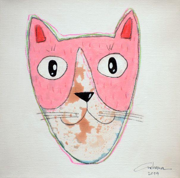 安恰娜‧恰麗亞琶朋-(NEW)白色系列:寵愛貓咪 #20