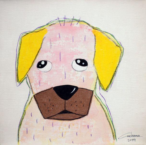 安恰娜‧恰麗亞琶朋-(NEW)白色系列:寵愛狗狗 #17