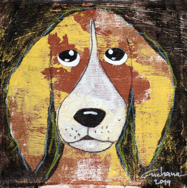 安恰娜‧恰麗亞琶朋-(NEW)黑色系列:寵愛狗狗 #1S