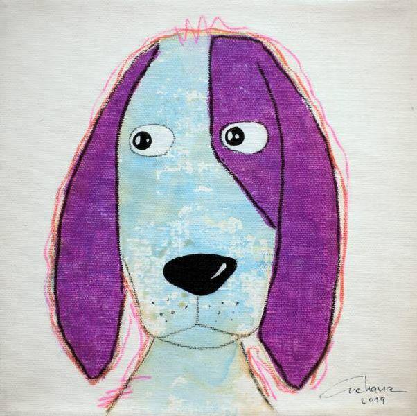安恰娜‧恰麗亞琶朋-(NEW)白色系列:寵愛狗狗 #16