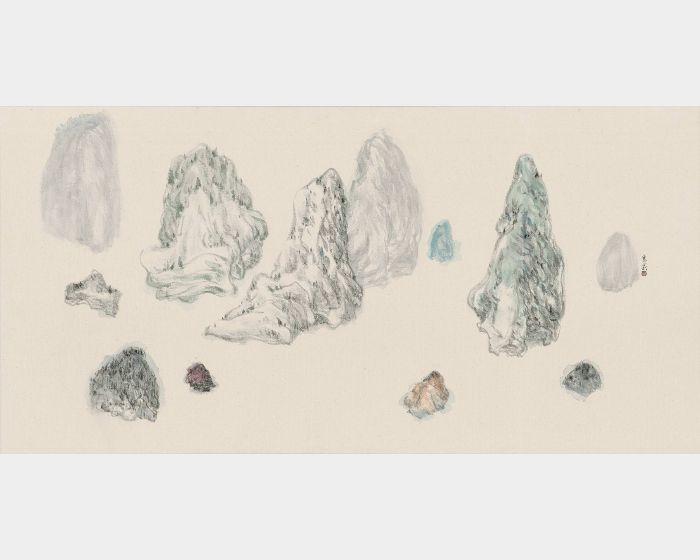 袁慧莉-勢山水no.14    Intrinsic Potential Landscapeno.14