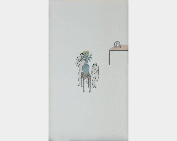 簡翊洪 -修剪菊花