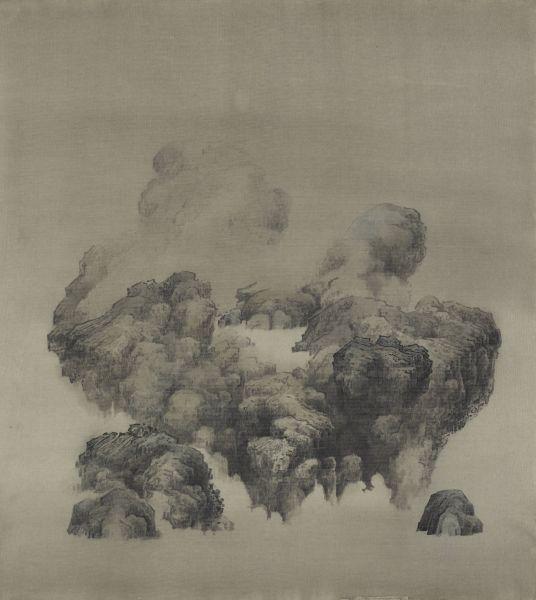 白雨-霧上池 Mist on the Lake