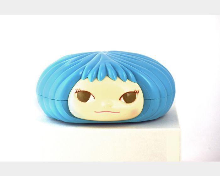 奈良美智-奈良美智糖果罐-藍