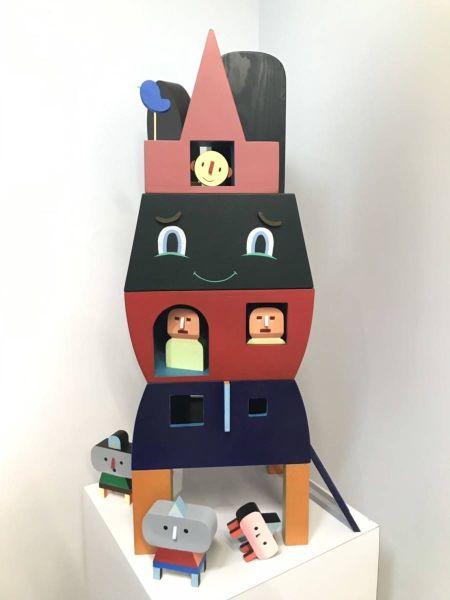 克斯欽‧塔孟東-歡愉之家 (1/2,10 版無版次) Happy House